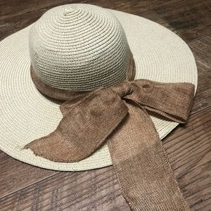 Canvas wrapped sunhat